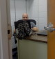 Platts in his office. Photography by Antonia Florence