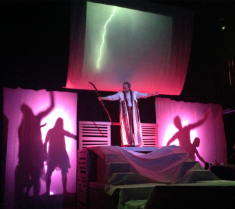 Prospero Raising The Tempest Photographed by Tucker Poe