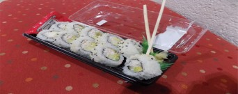 California roll, photography by Jake DeLaurier
