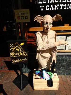 Sculpture of Dobby