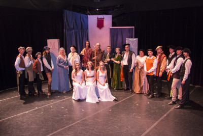 The cast of Romeo and Juliet. Photography courtesy of PVCC's Marketing and Media Relations Office