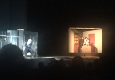 AHS Drama performing The Castle. Photography by Isaac Rowlingson