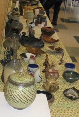 Photo courtesy of PVCC Student Pottery Club